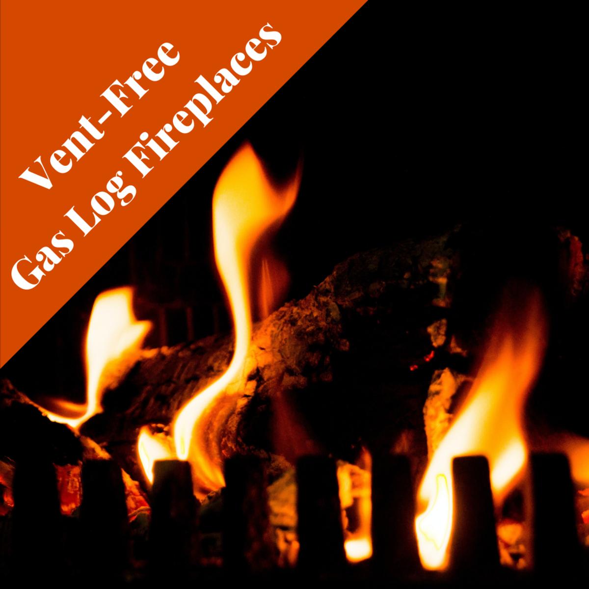 Considering a vent-free gas log fireplace? Know the pros and cons.