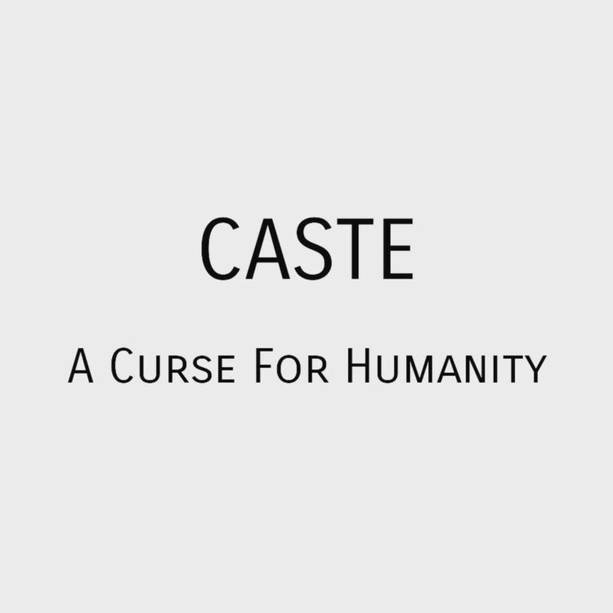 my-caste-ridden-country