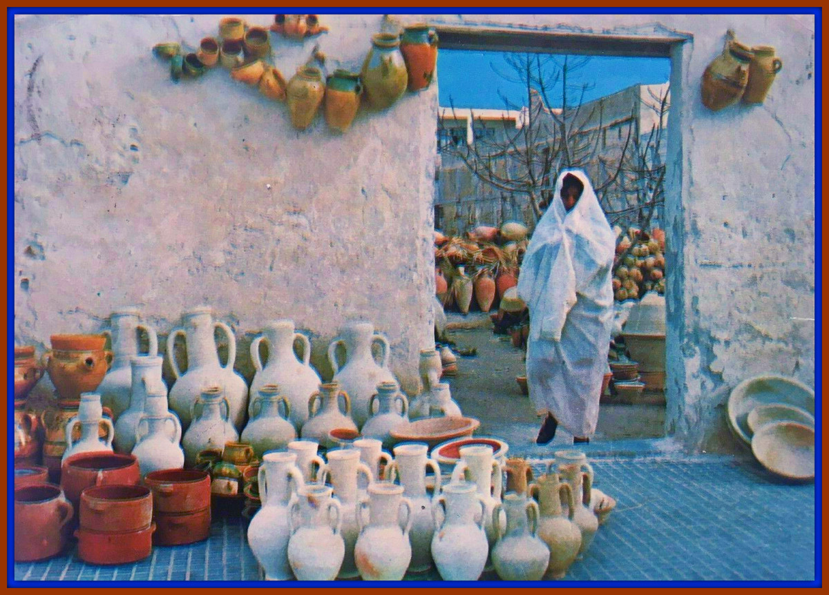 In this Century the Region Around Carthage is Still a Center of Excellent Pottery Craftmanship