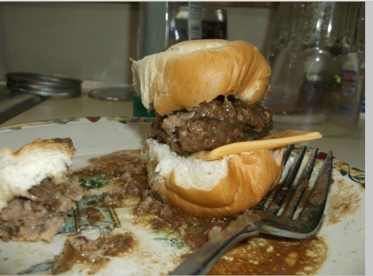 Minnesota Cooking: Beef Burger Patty - Oven Baked With Gravy Powder