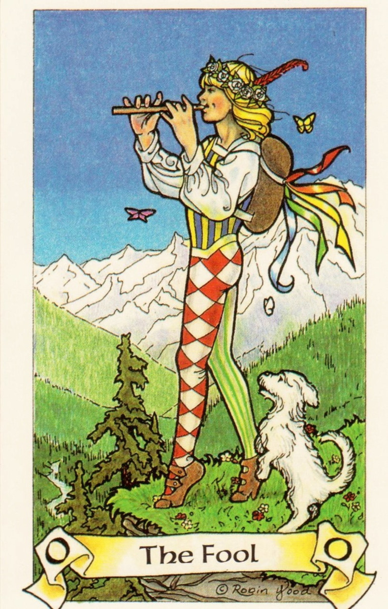 The Fool reversed may mean you need to reign it in a little bit. Maybe you need to get more in touch with your spirit. Put on the brakes, so you don't come off reckless.