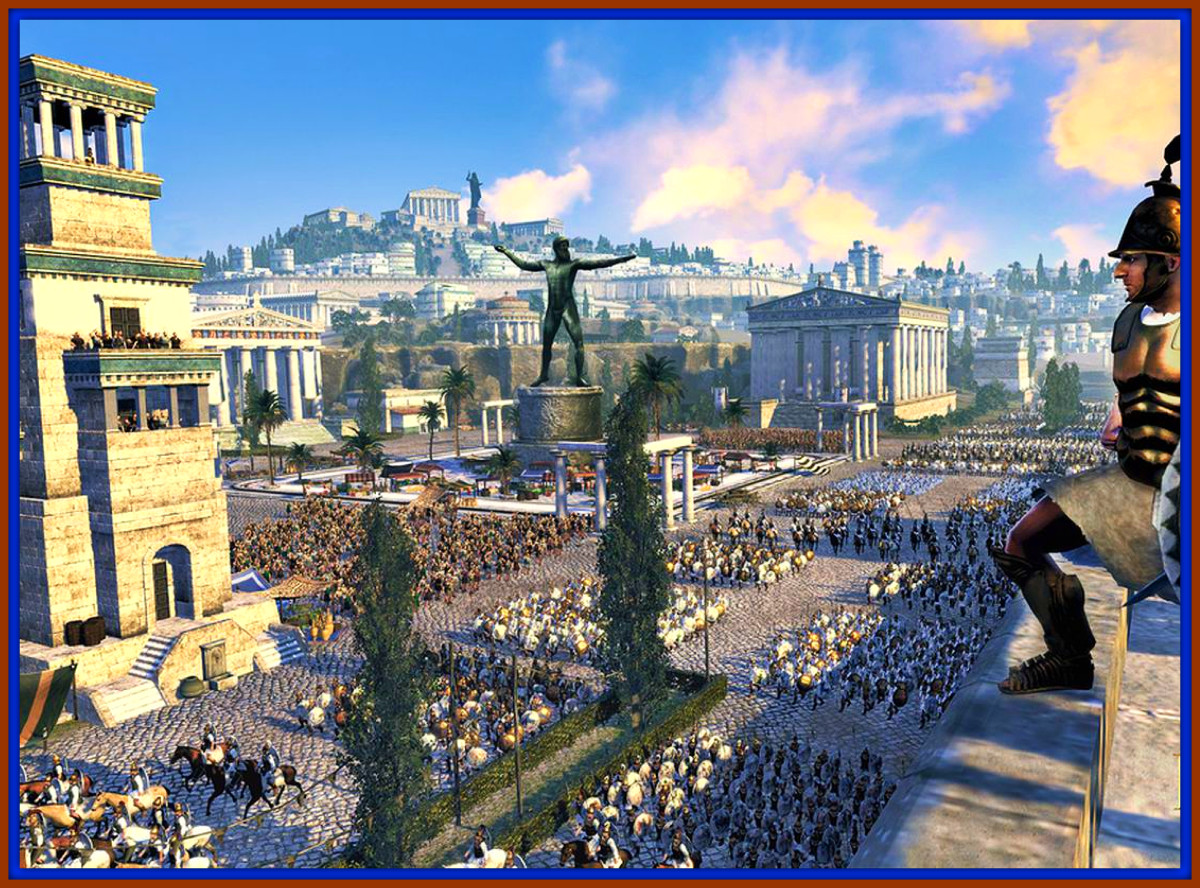 The Great City of Carthage Preparing for the Start of the Third Punic War with Rome