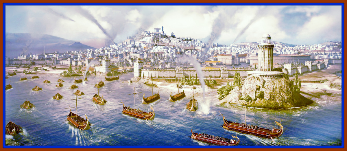The City of Carthage at the Start of the Third Punic War with Rome.