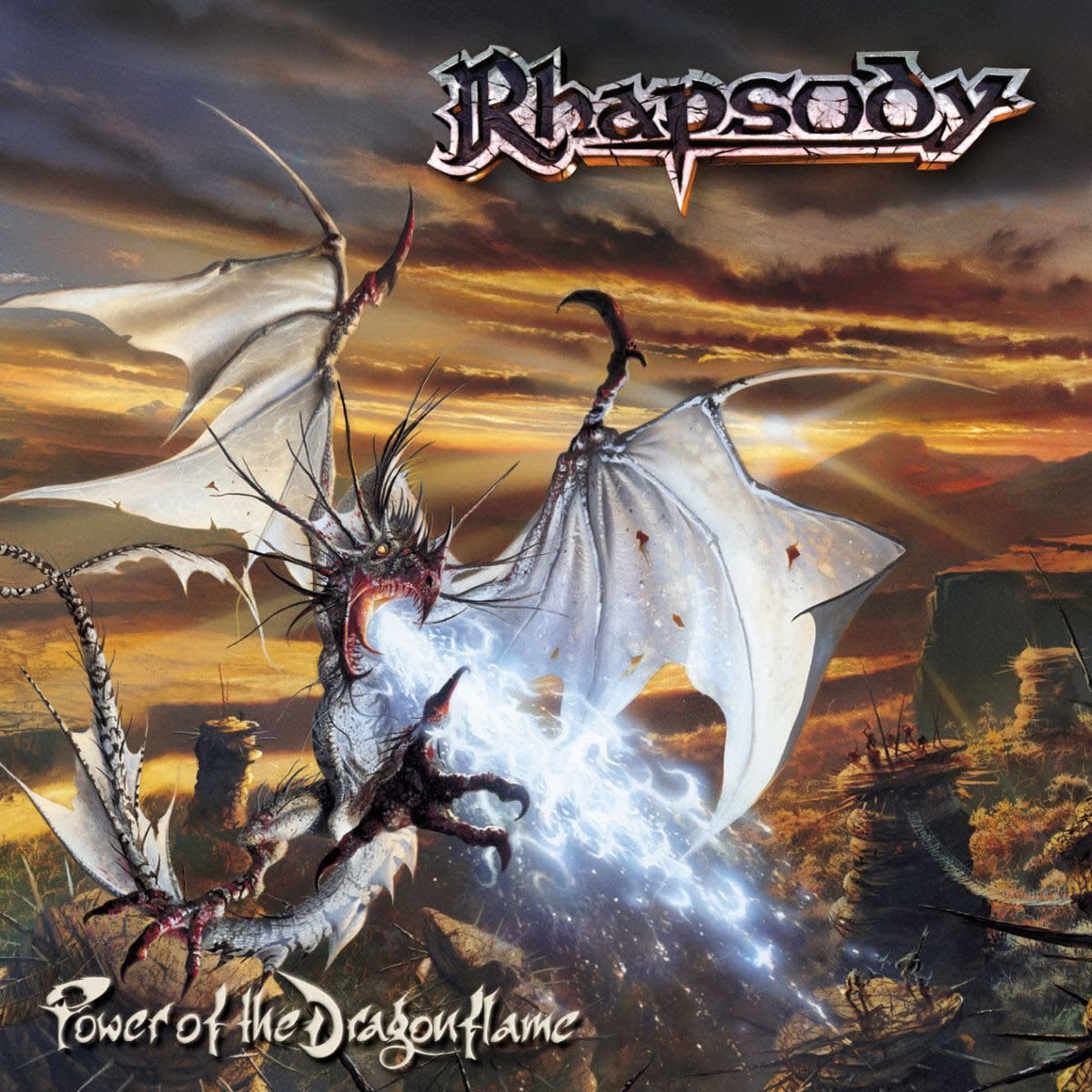 Review of the Album Power of the Dragonflame by Italian Power Metal Band Rhapsody of Fire