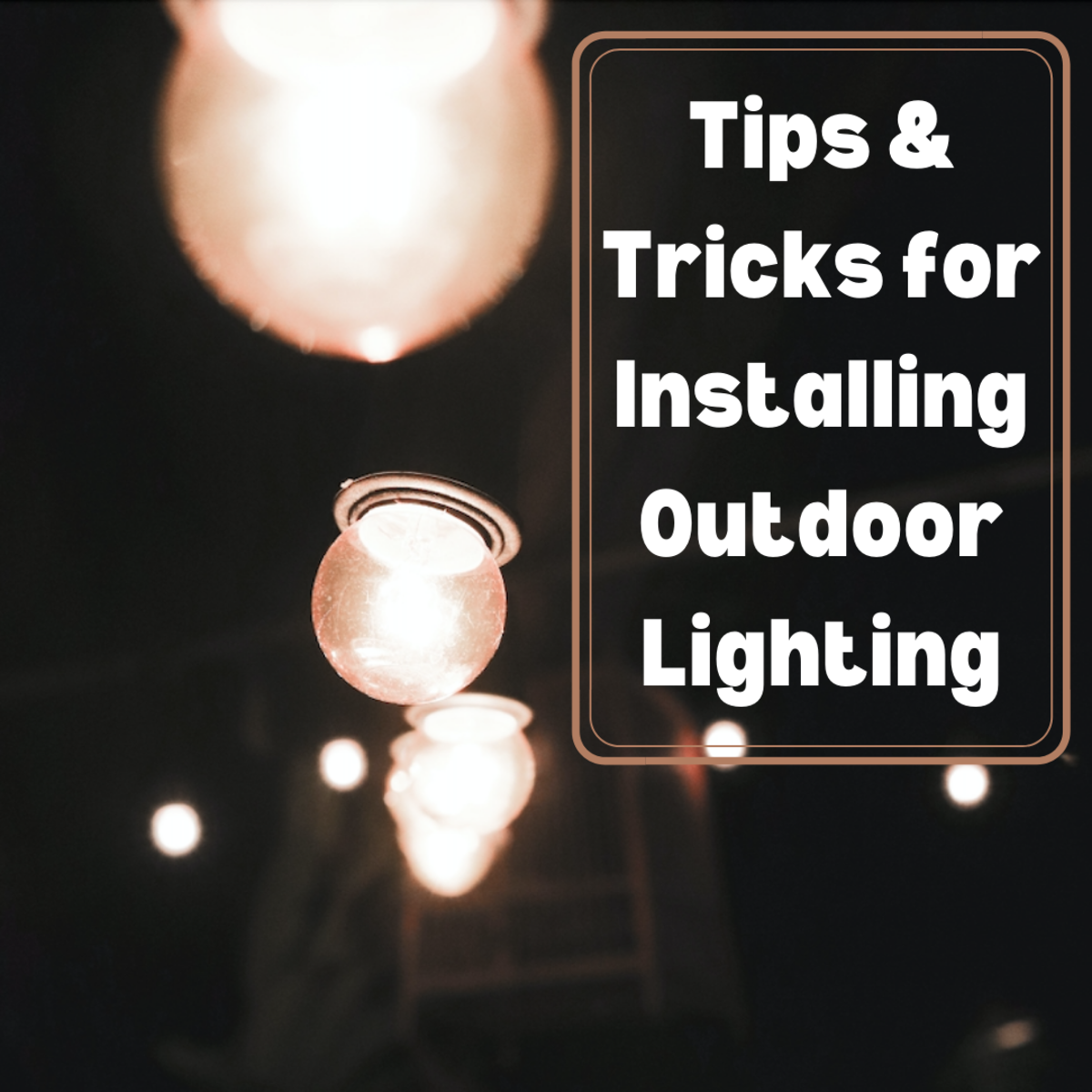 This article teaches important tips for installing low-voltage outdoor lighting