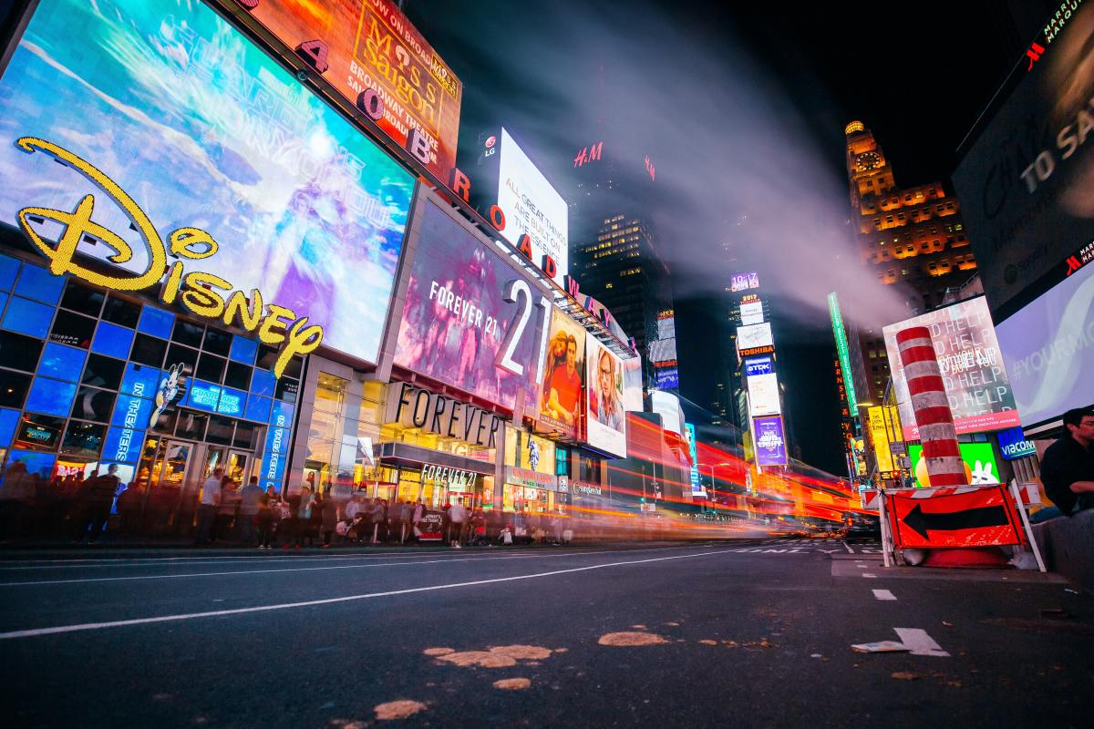 From Disney and Forever 21 to Levi's and Sephora, Times Square has something for everyone.