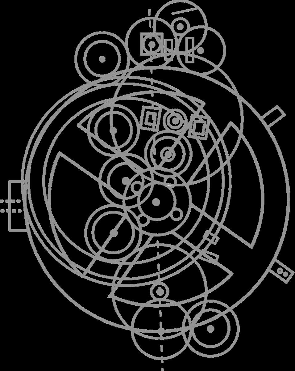 Complex gears of the Antikythera mechanism