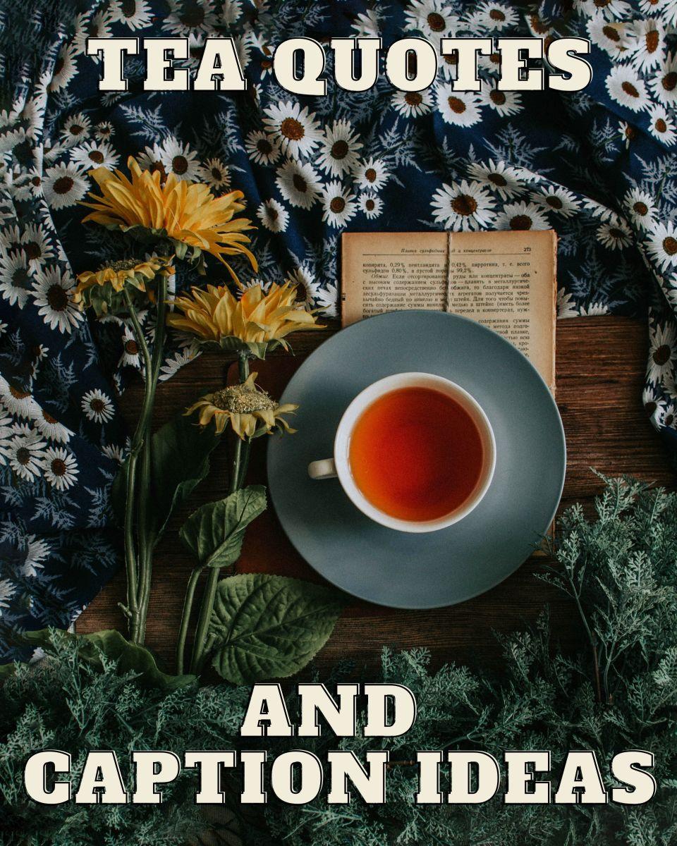 Tea Quotes and Caption Ideas