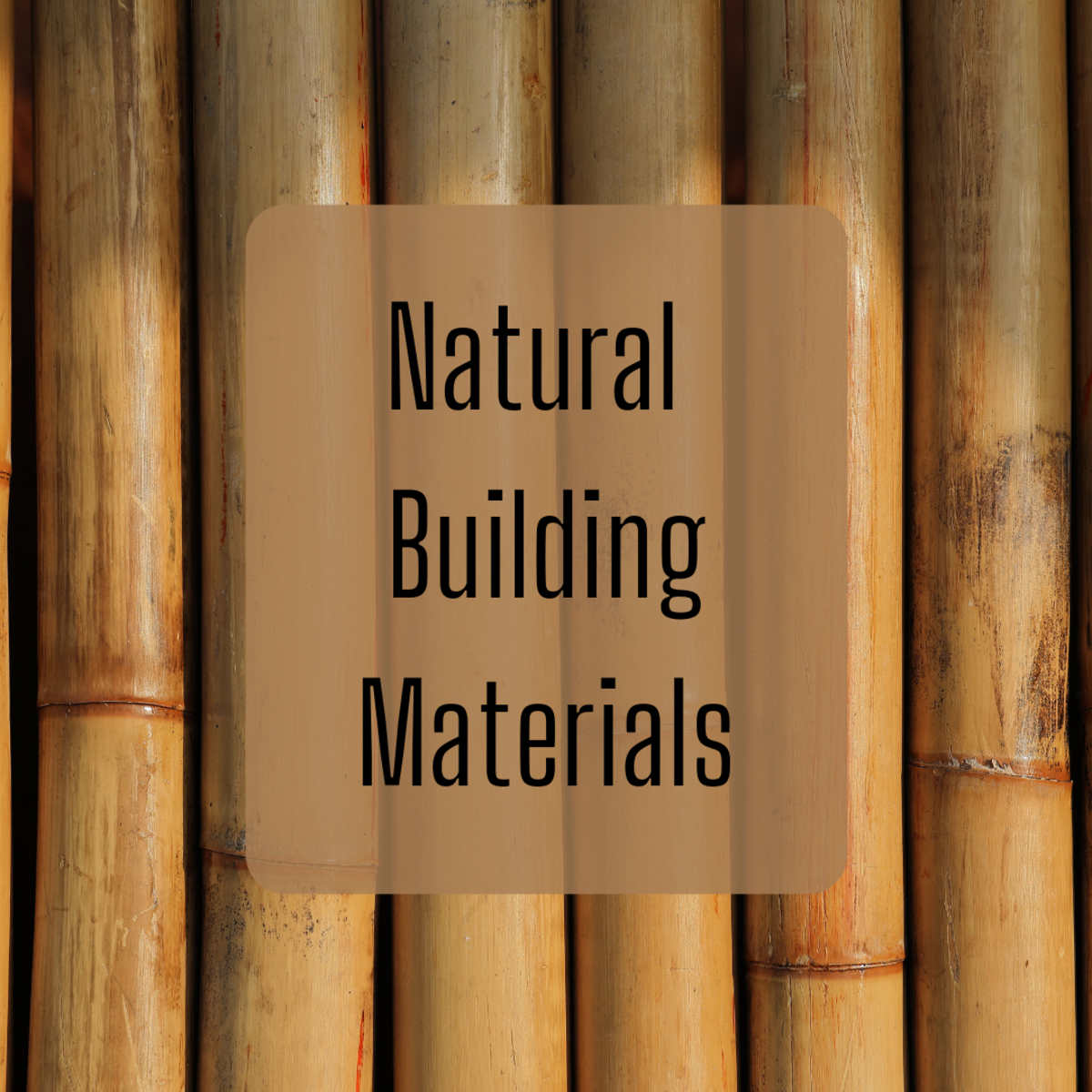 Bamboo can be used in different building applications.