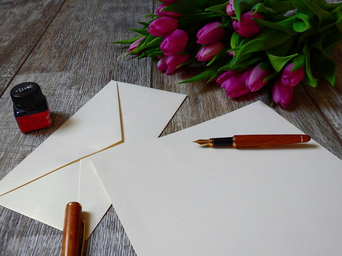 Go ahead, write your partner a love letter! (Or get them fancy stationary so they can write you one.)
