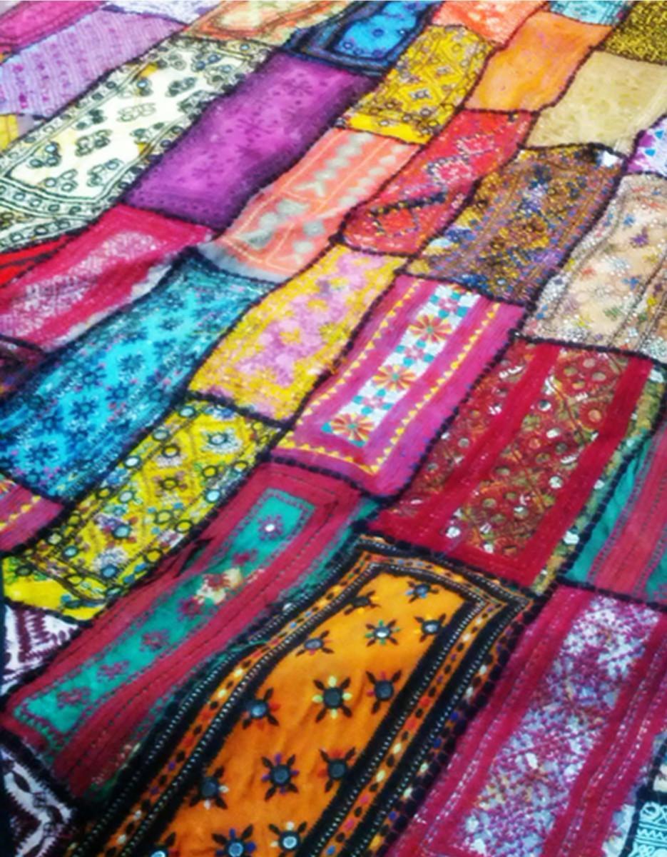 Tharri Patchwork | Rare Sindhi Cultural Art