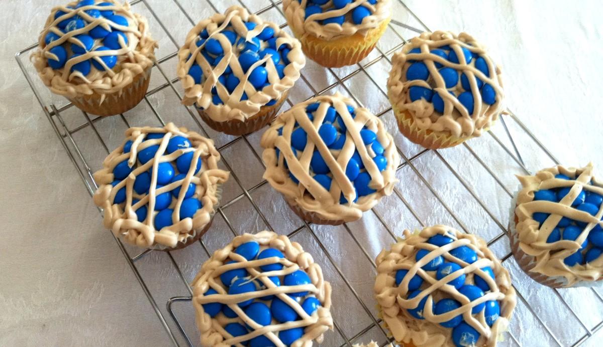 The Blueberry Pie Cupcakes