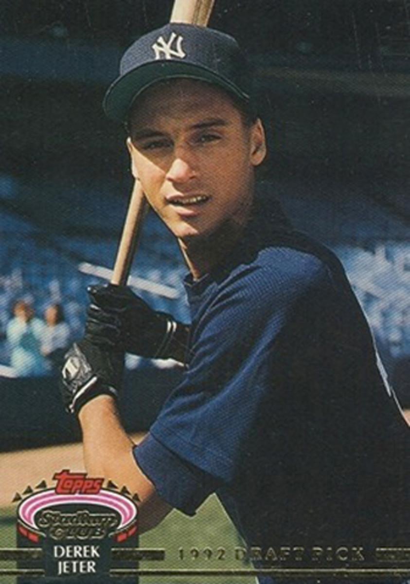 Derek Jeter, Rookie Card, C. 1992