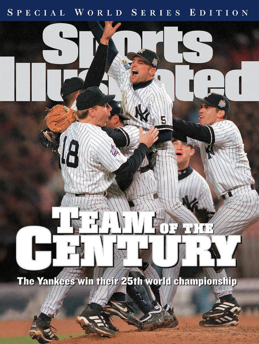 1999 World Series picture on the cover of Sports Illustrated