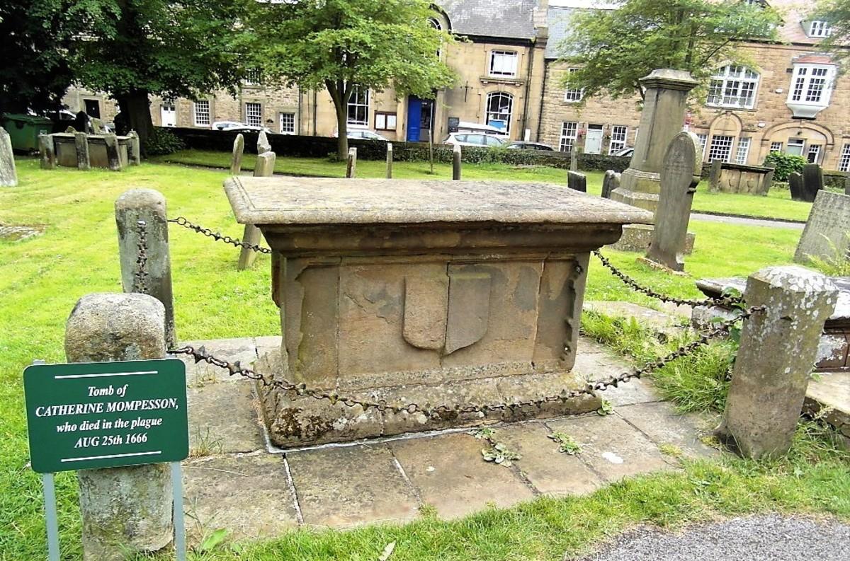 Catherine Mompesson's tomb.