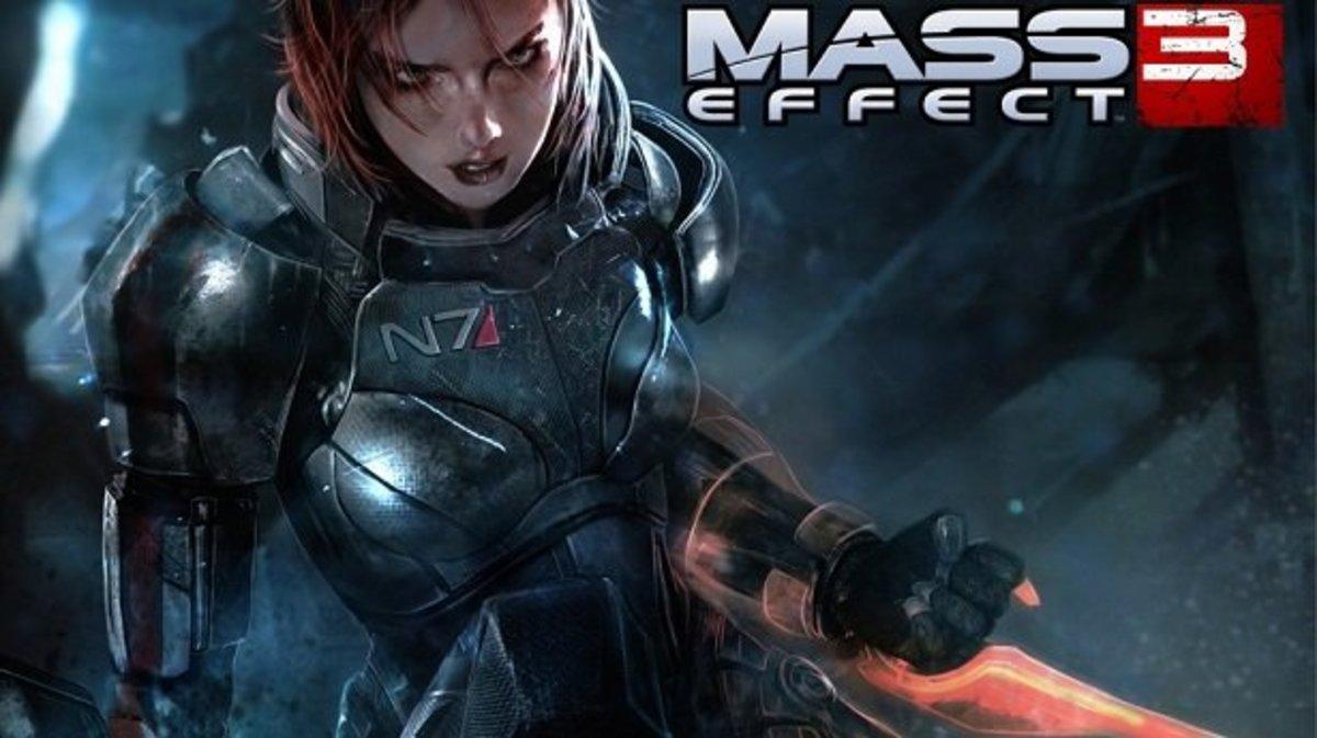 Promotional art of Commander Shepard.