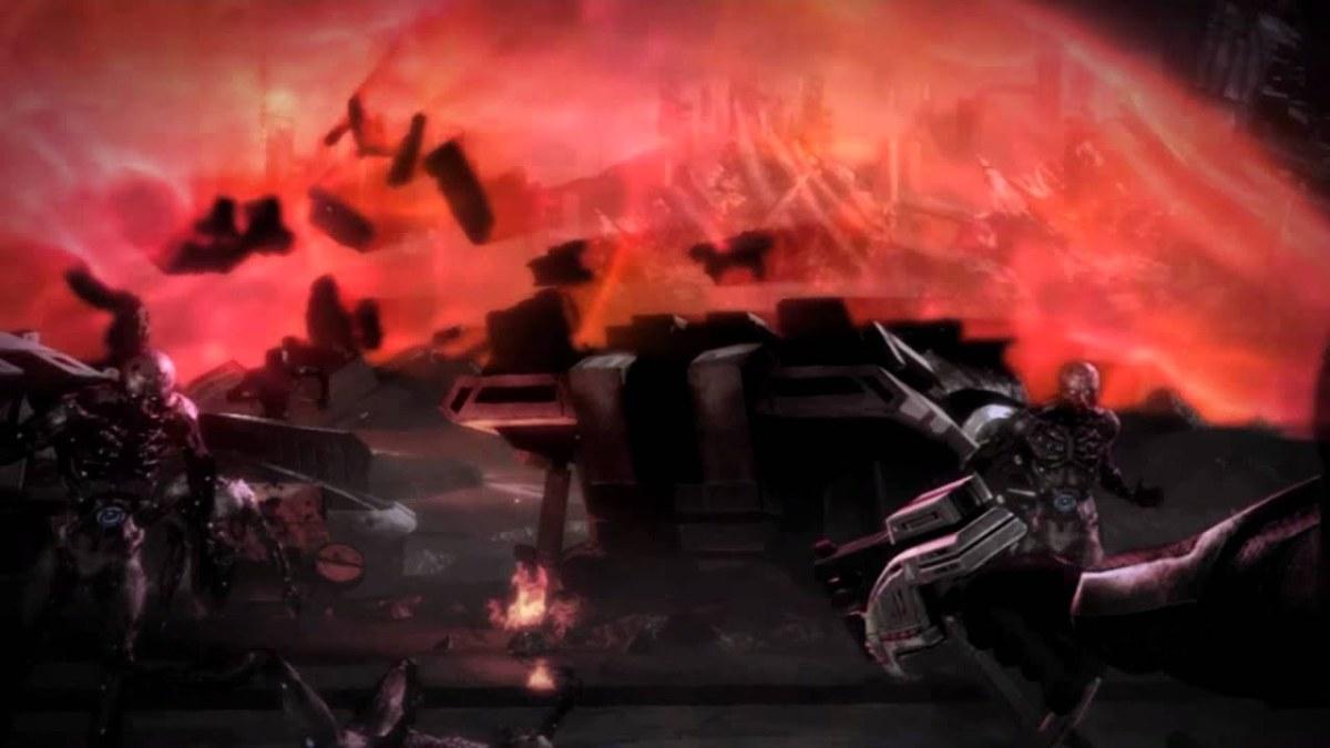 The original Destroy ending.