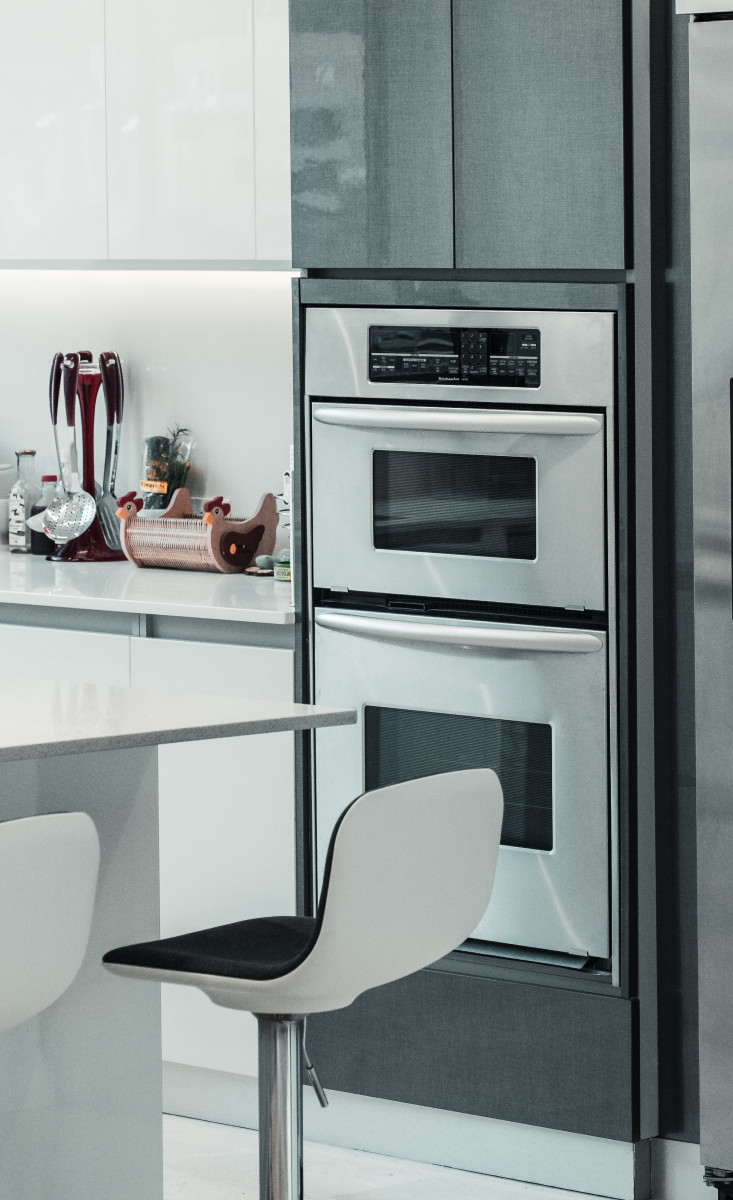 You can limit your use of the self cleaning feature and have a clean oven. Photo by Cleyder Duque from Pexels