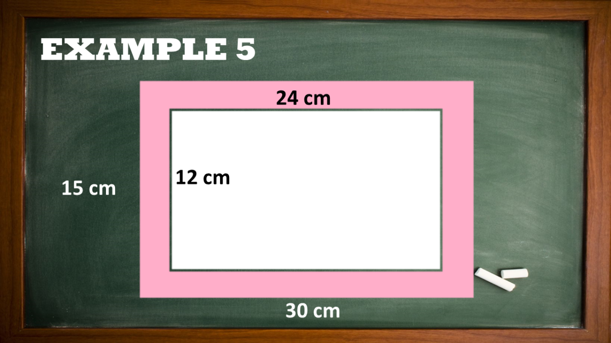 Finding the Area of the Shaded Region of a Rectangle