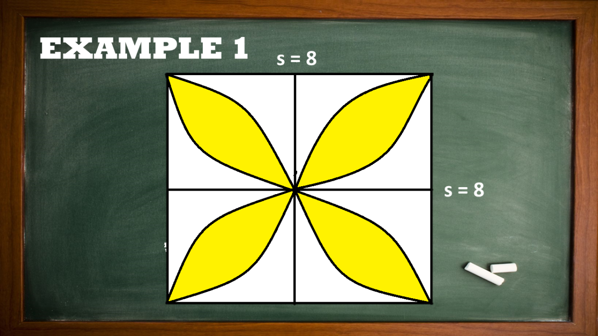 Finding the Area of the Inscribed Four-Leaf Figure
