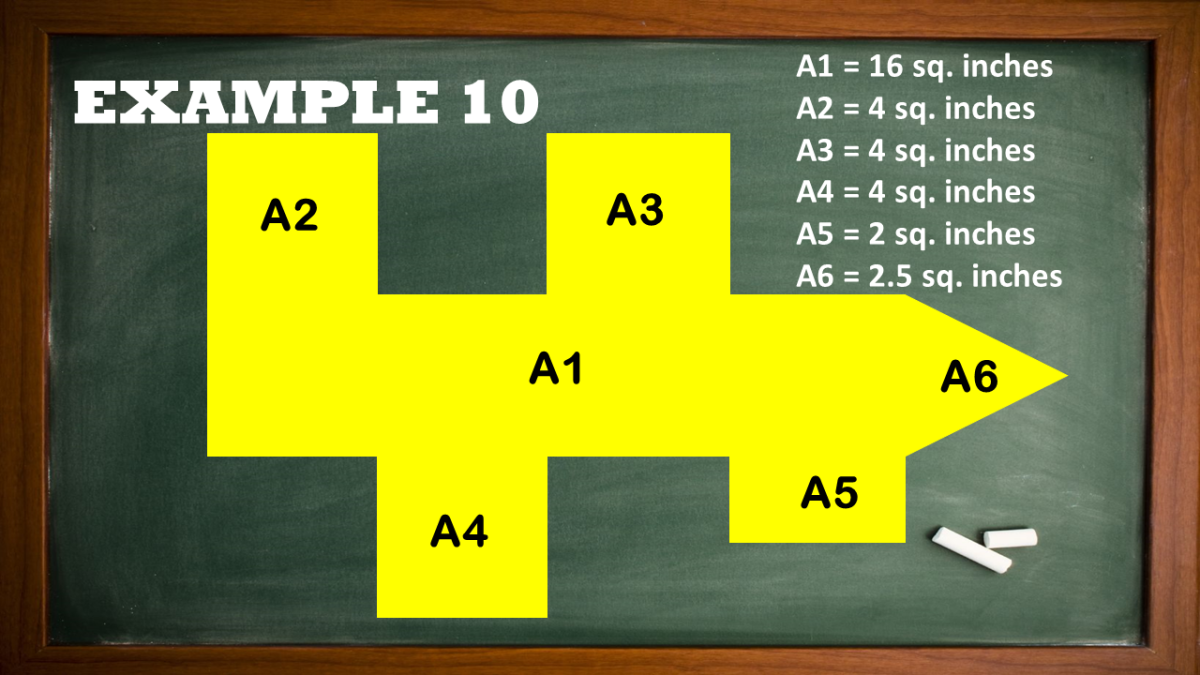 Finding the Area of a Complex Shape
