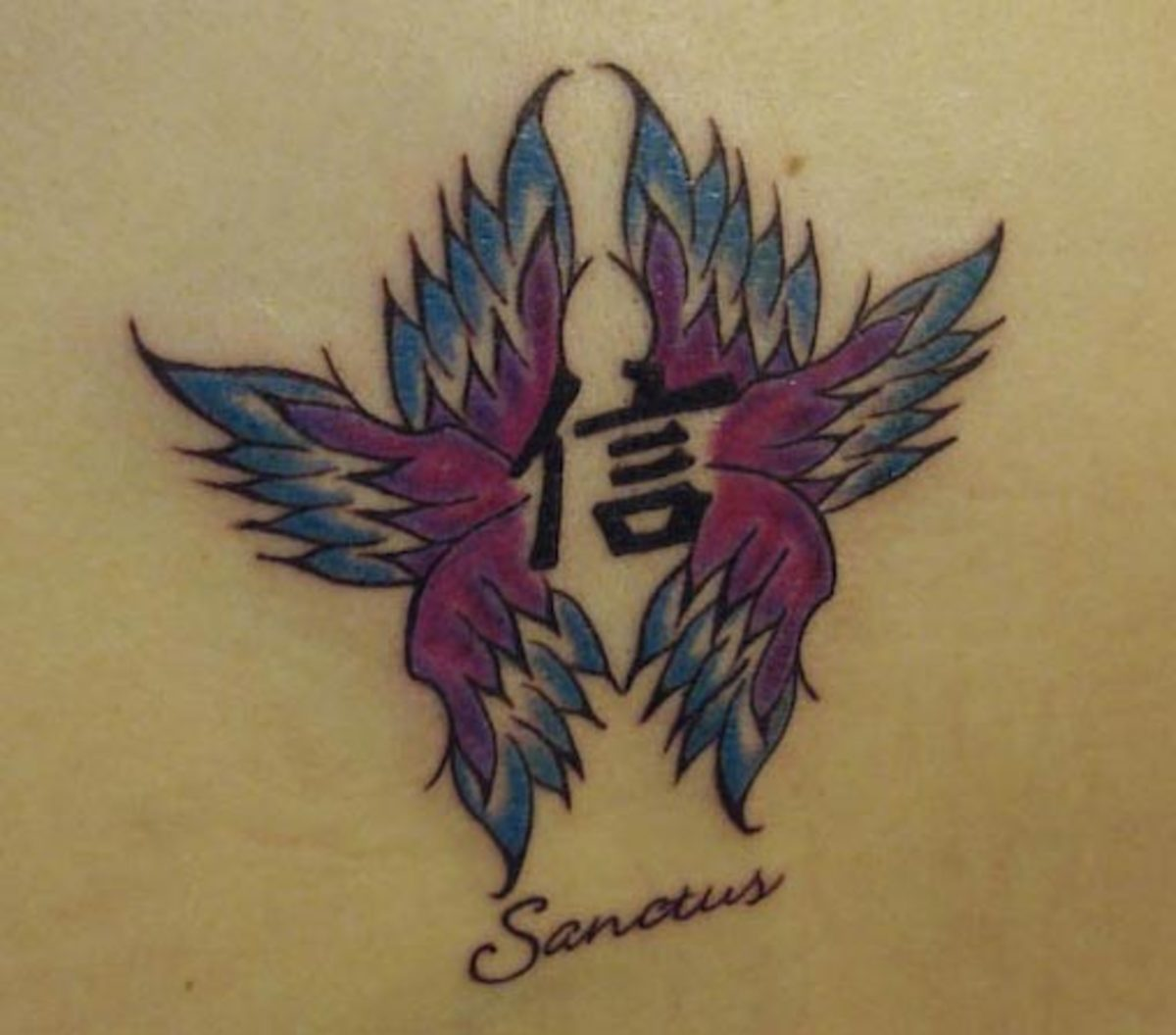 (by Makeba Ische, Cactus Tattoo, Mankato, MN)