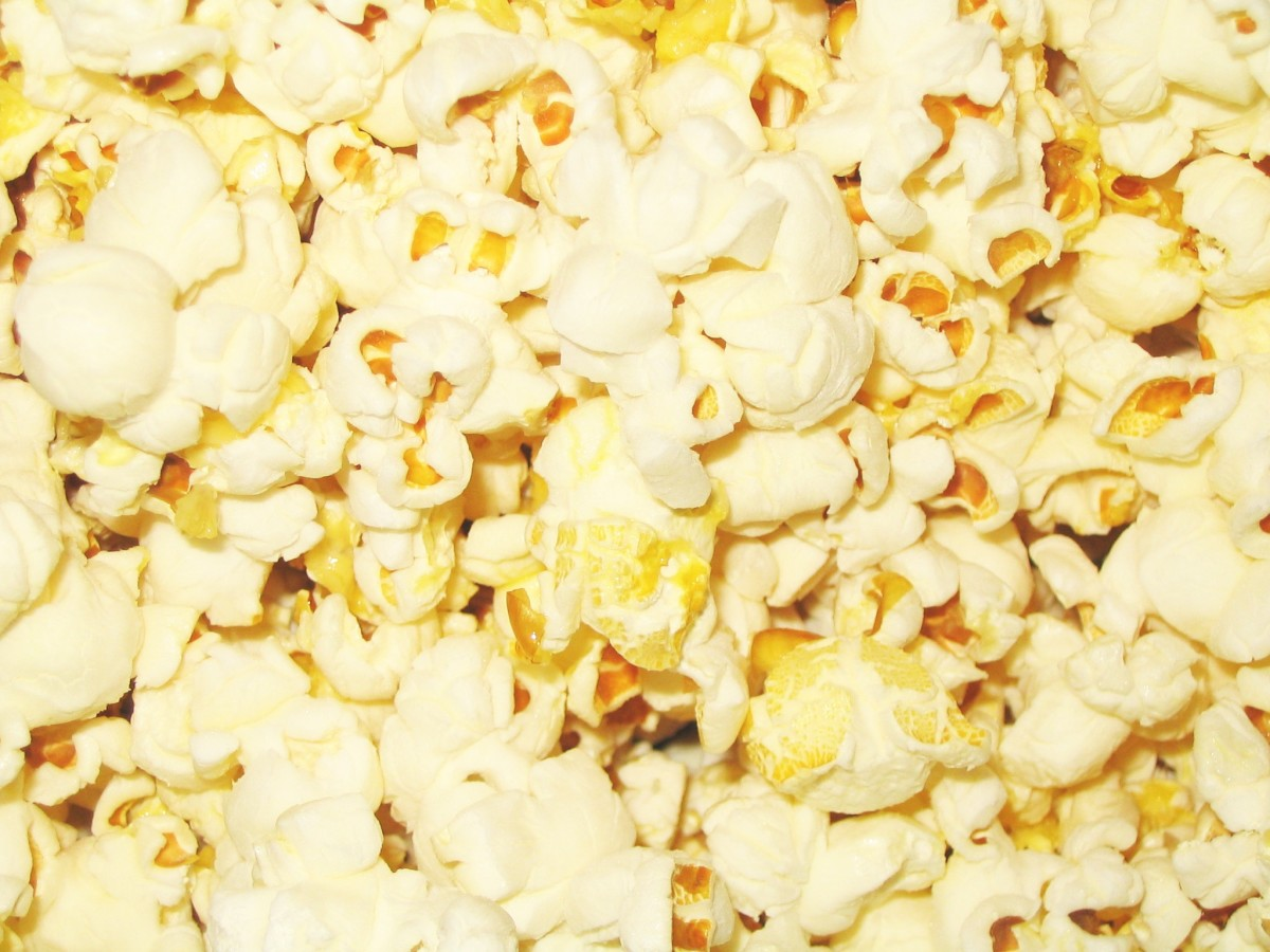 This is best for Tragedy of the commons because  popcorn goes a long way!