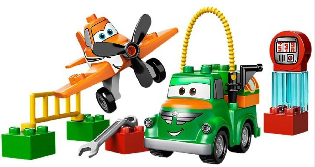 LEGO Duplo Disney Planes Dusty and Chug.