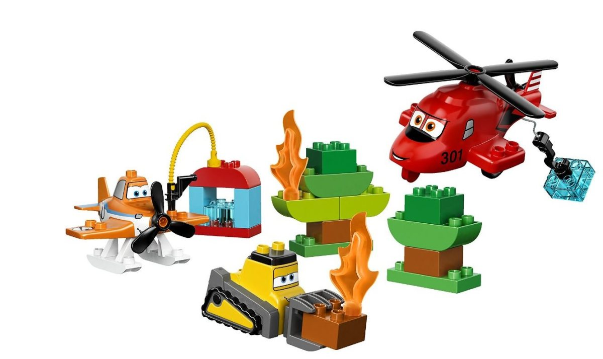 LEGO Duplo Disney Planes Fire and Rescue Team.