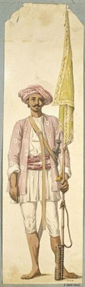 Indian Solider of Tipu Sultans Army