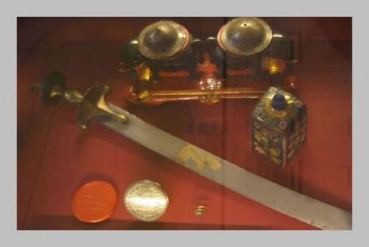 Sword of Tipu Sultan