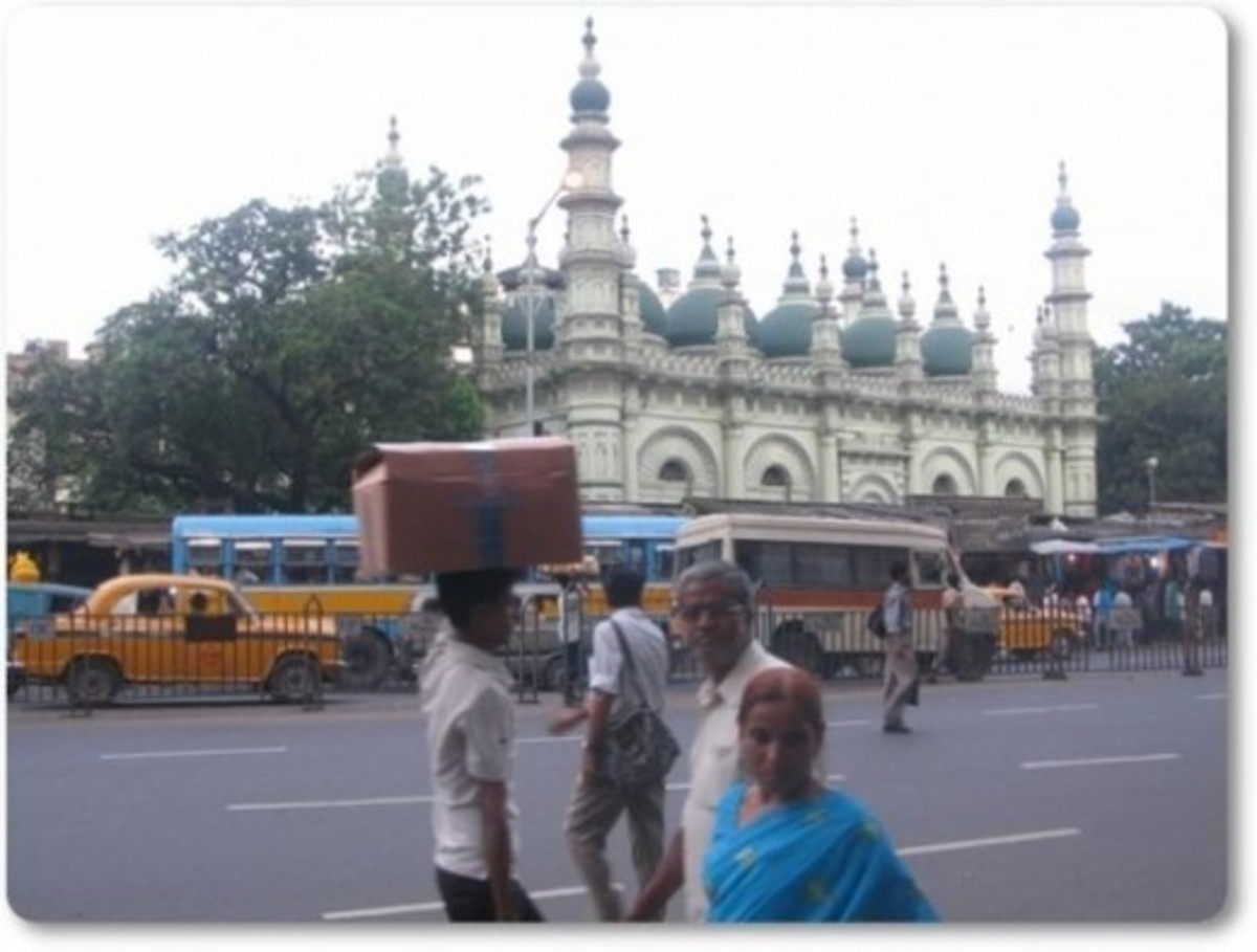 Tipu's Mosque at Kolkatta