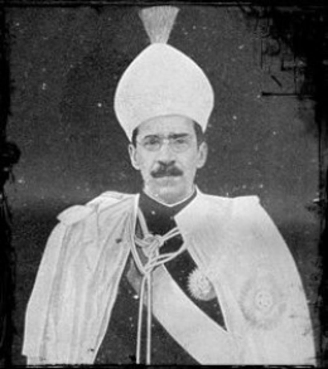 Hyderabad Nizam. Osman Ali Khan
