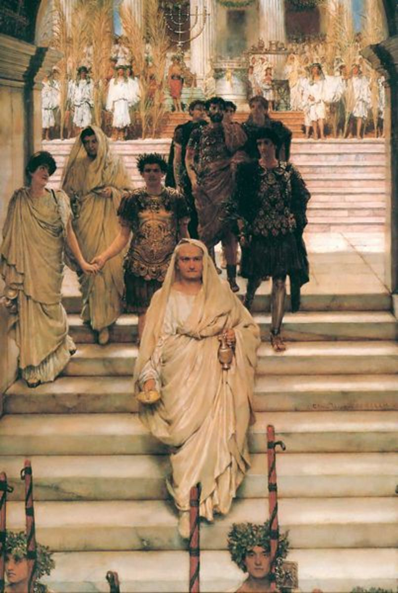 The Triumph of Titus by Sir Lawrence Alma-Tadema 1885