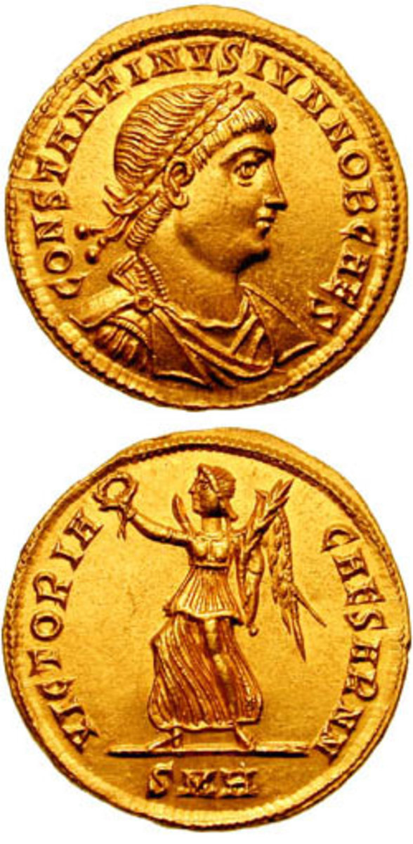 Constantine II. Coin from CNG Coins.