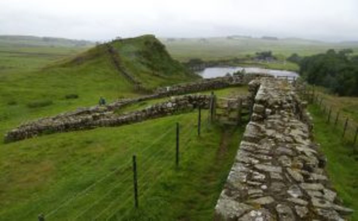 Hadrian's Wall Photo by Eva Schuster