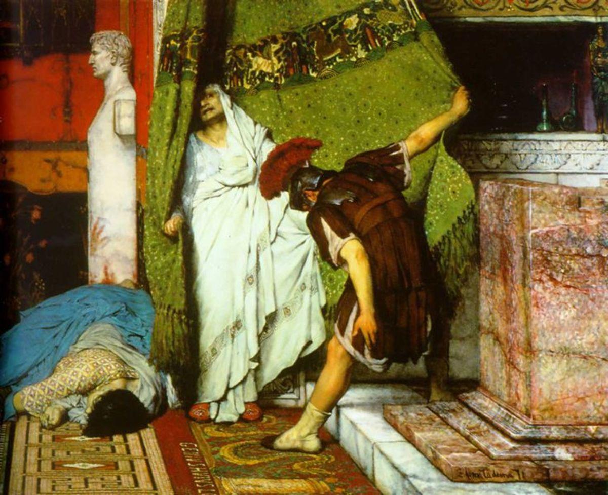A Roman Emperor 41AD, by Lawrence Alma-Tadema 1871