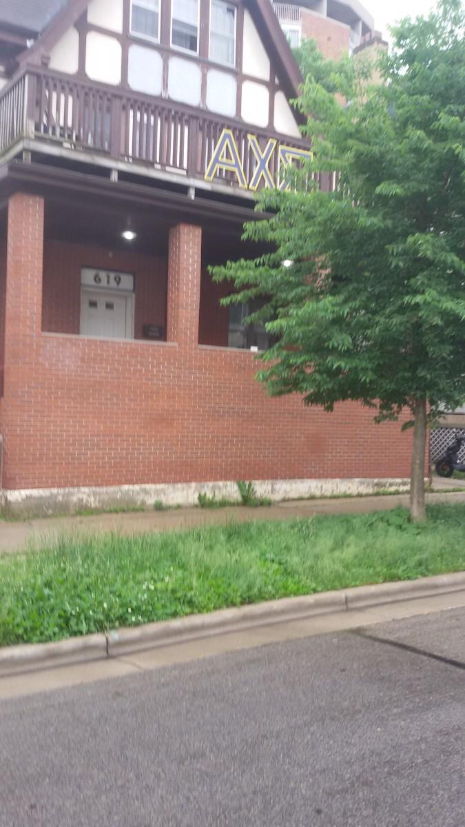Alpha Chi Sigma Alpha house at 619 Lake St.