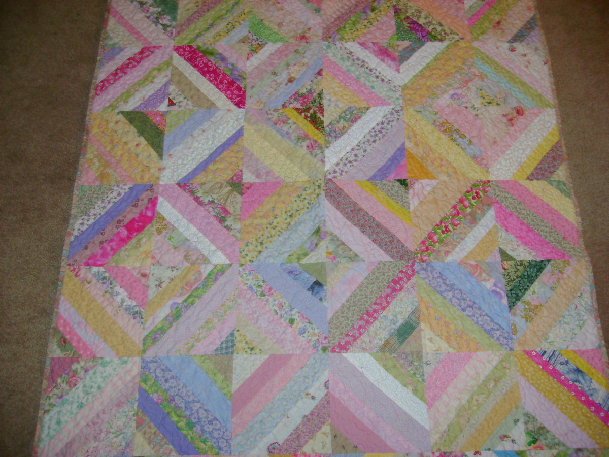 Scrappy Quilts With Free Patterns