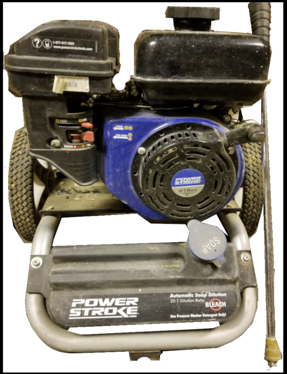 Typical High-Volume Power Washer