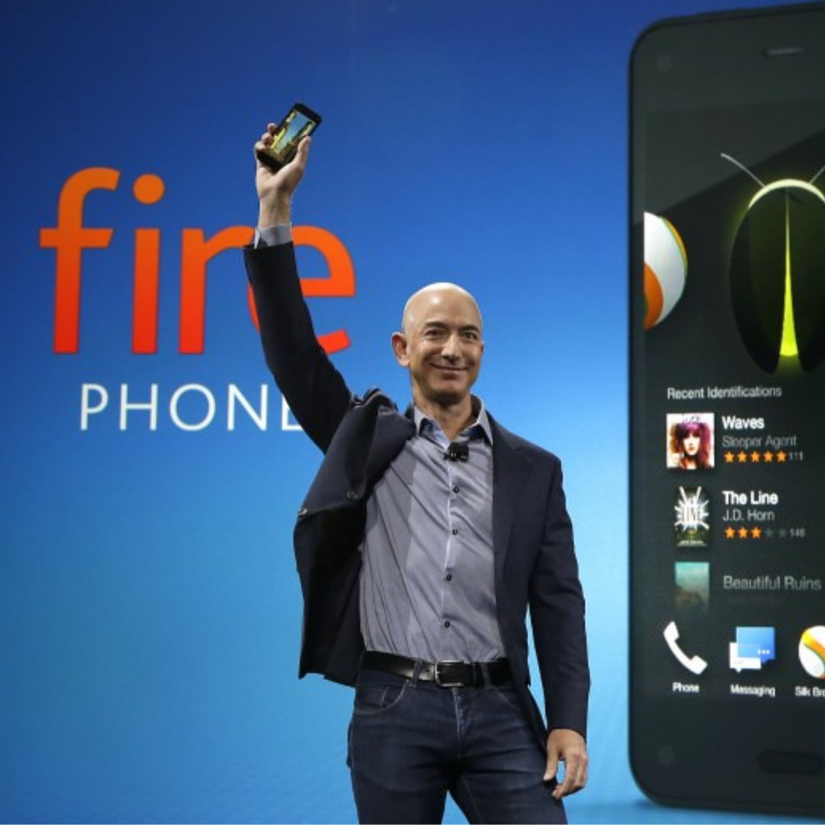 Why did the Amazon Fire Phone Fail?