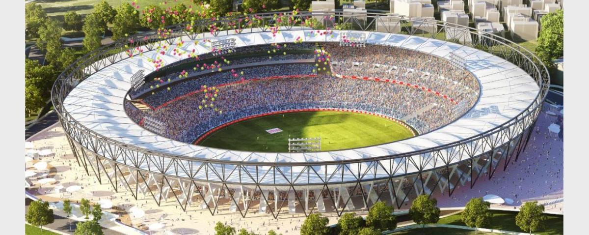 World's Largest Cricket Stadium at Motera