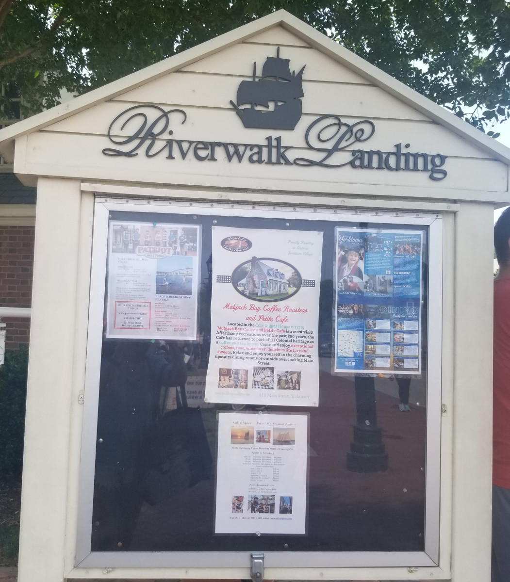 Riverwalk has stores and a beach area. Special thanks to my friend, Evan Berson.