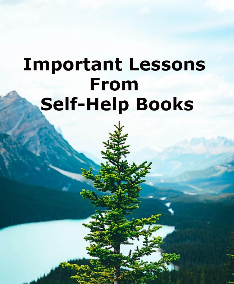 Ten important lessons that self-help books aim to teach
