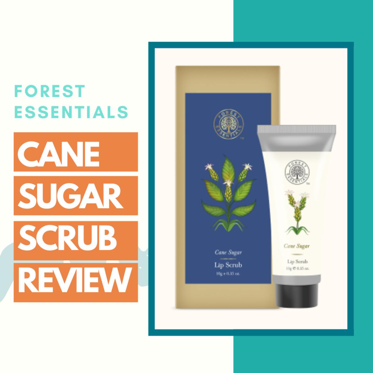 forest-essentials-cane-sugar-lip-scrub-review