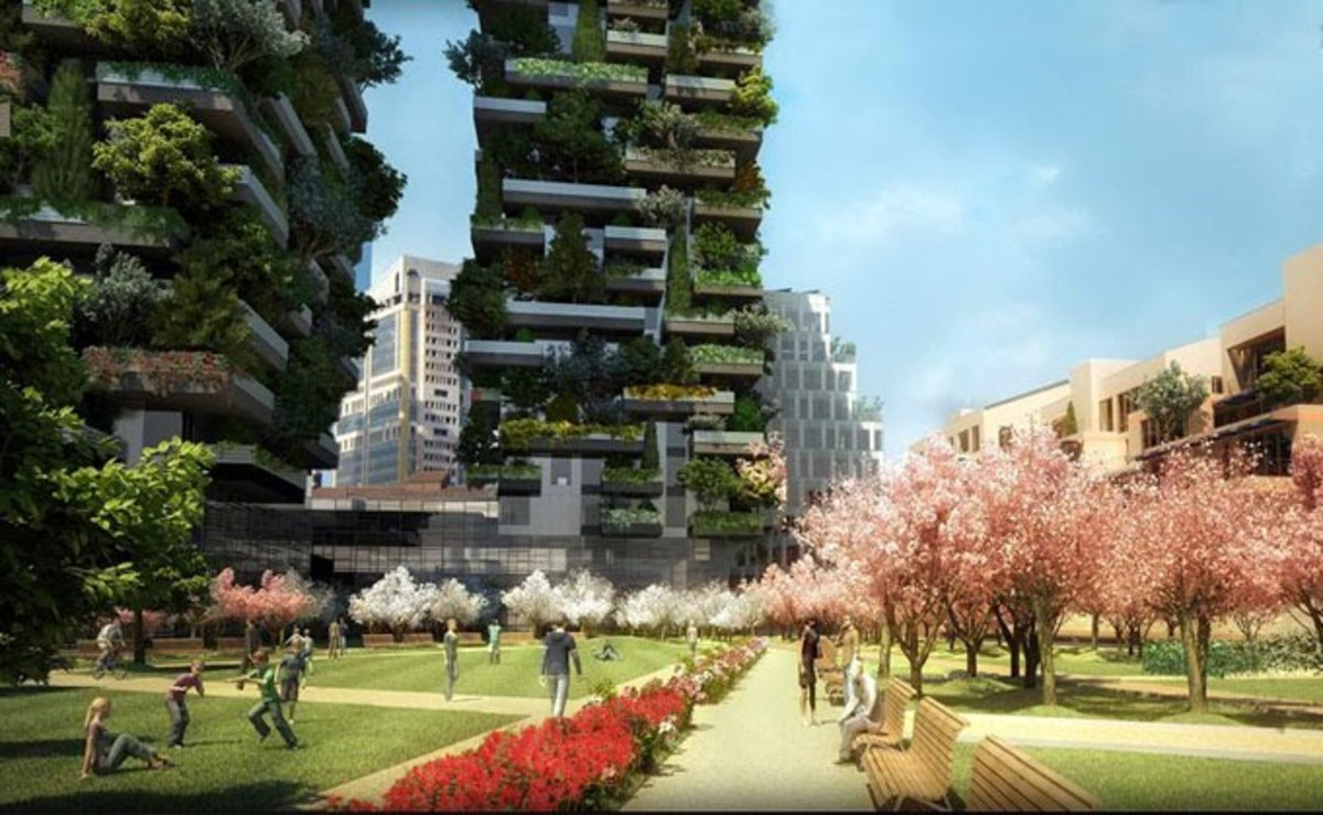 Bosco Verticale conception
