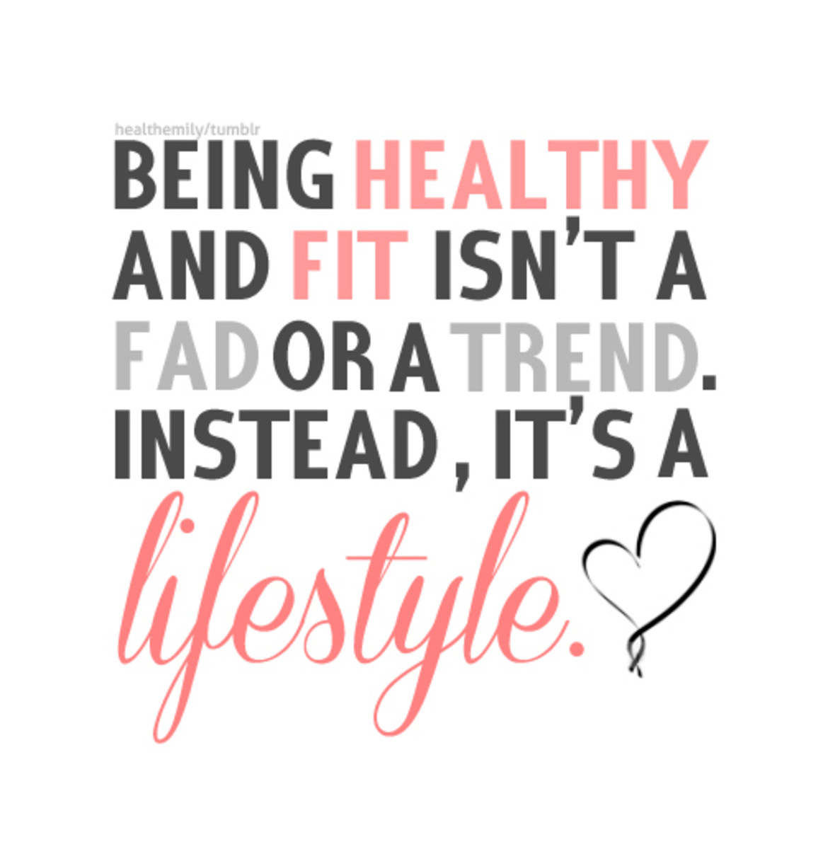 Healthy lifestyle is the key to lose those extra pounds