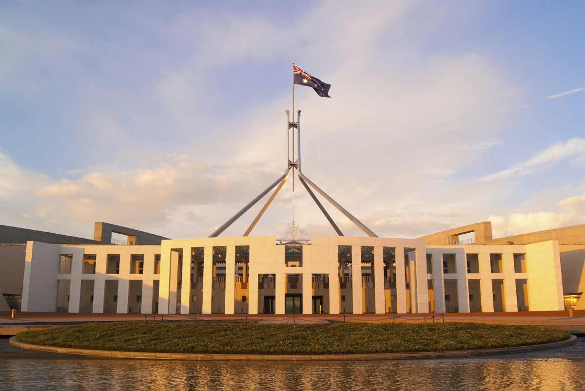 This is Canberra parliament house, where federal laws can be made to help the farmers, but we need a stable government to do that, but today the politician are arguing on many things just to see who is going to have the top job.
