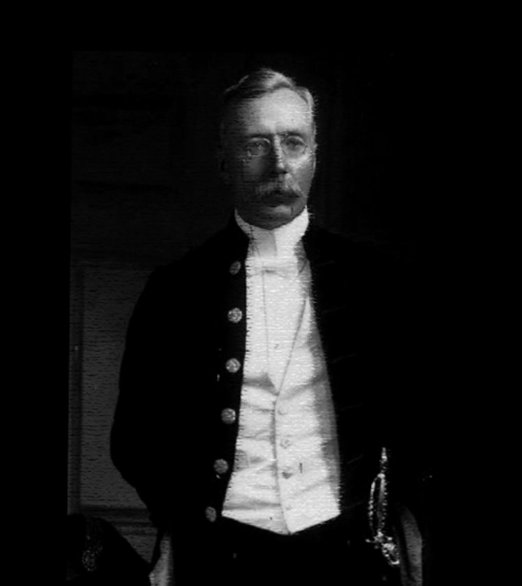Sir Daniel Hamilton, the founder of a unique development.