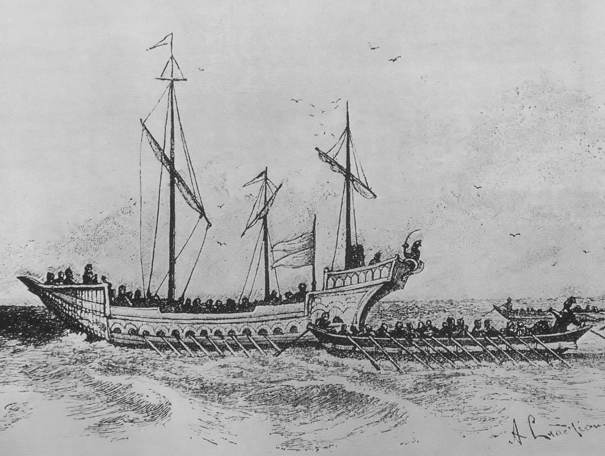 Ukrainian cossack ships
